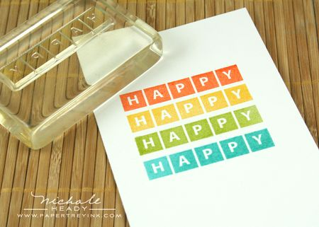 Stamping happy