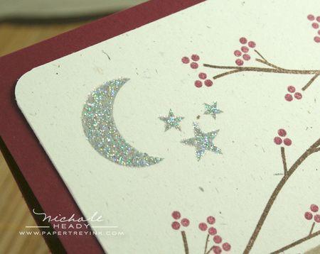 Glittered moon