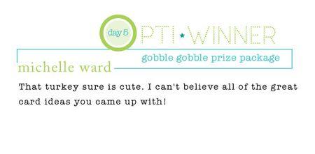 Gobble-gobble-winner