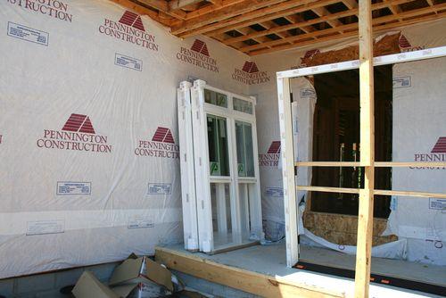 Front porch windows