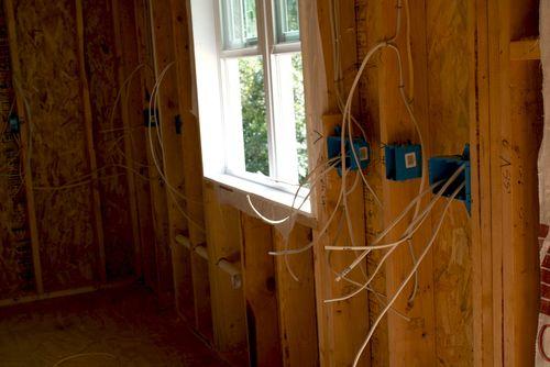 Kitchen wiring