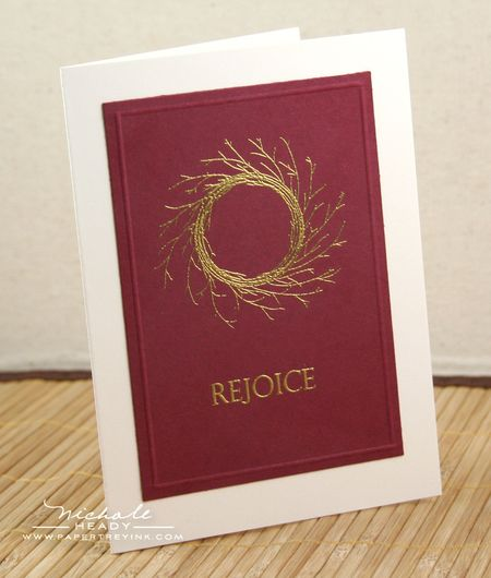 Golden Rejoice Card
