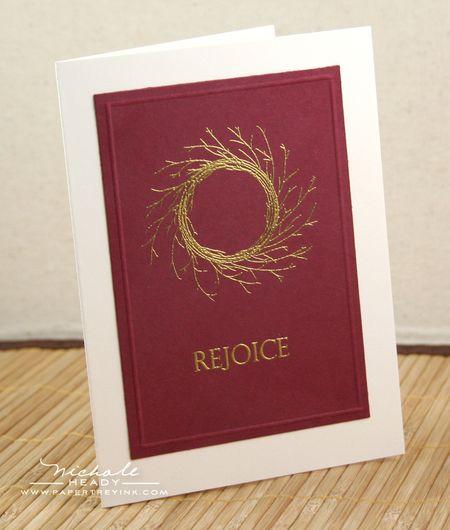 Golden Rejoice Card