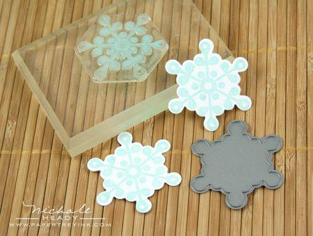 Snowflake die