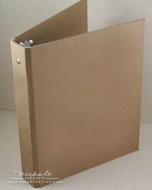 Blank binder