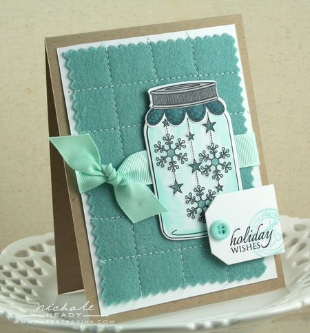 Holiday Wishes Snowflake Card