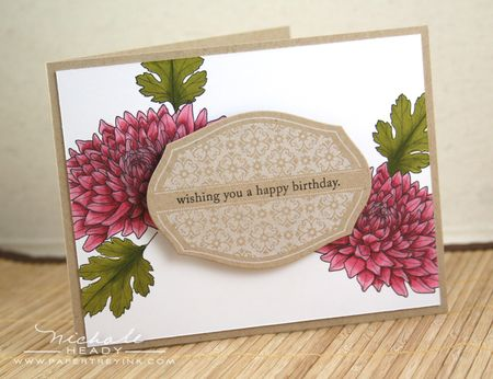 Mums Birthday Card