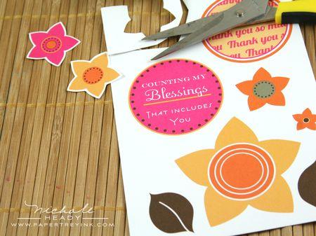 Cutting flower embellies