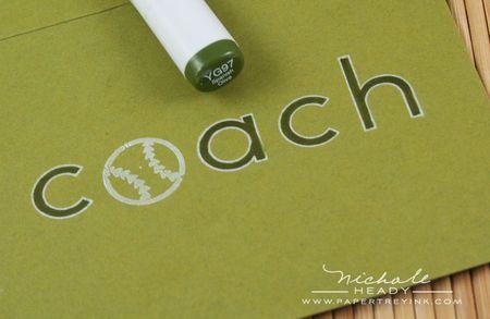 Coach colored