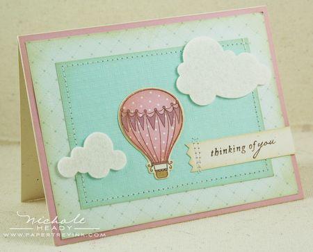 Vintage Balloon card