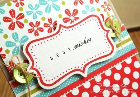 Best wishes closeup