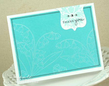 Hawaiian Thank you card
