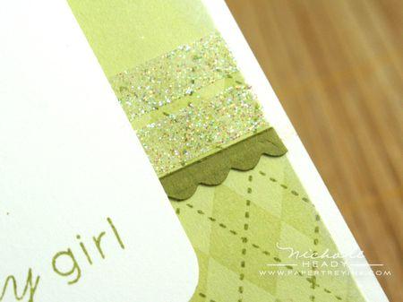 Glitter strips