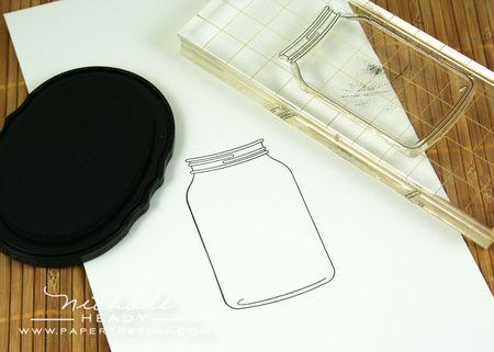 Stamping jar