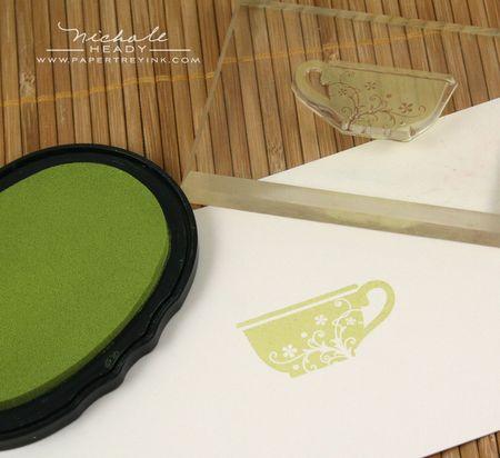Stamping teacup