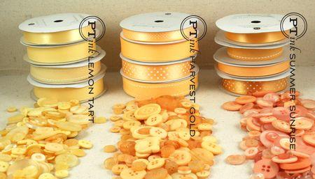 Harvest Gold button comparison