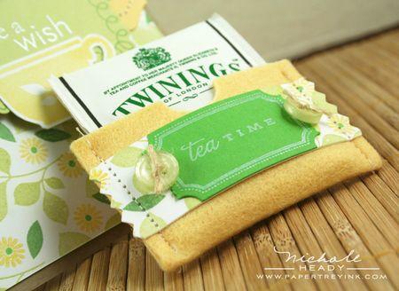Tea pocket up