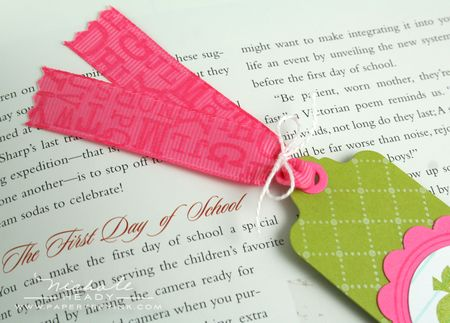 Bookmark ribbon