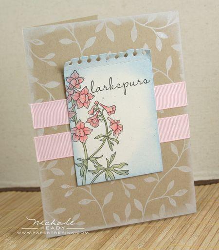 Larkspurs Card