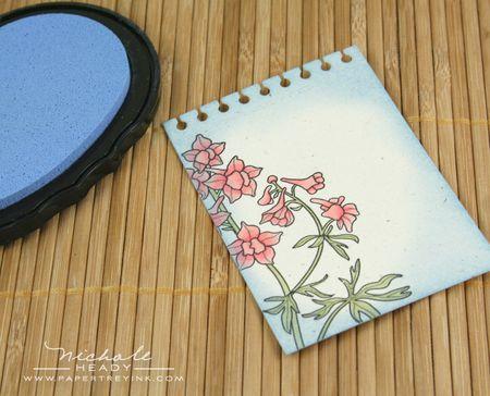 Spring rain ink pad
