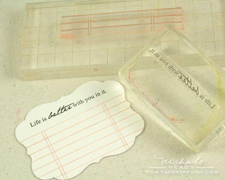 5 stamping journaling block