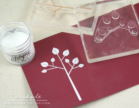 Heat embossing tree