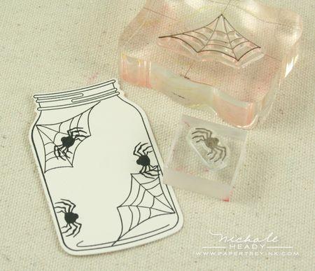Stamping spider & webs