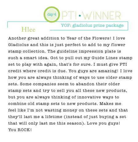 Gladiolus-winner