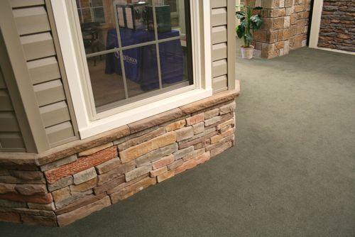 Stone foundation example