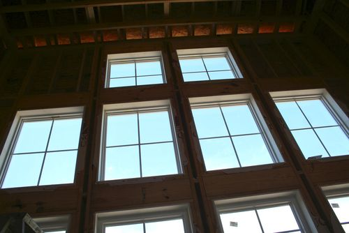 Great room windows up
