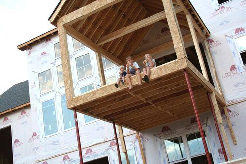 Kids screen porch