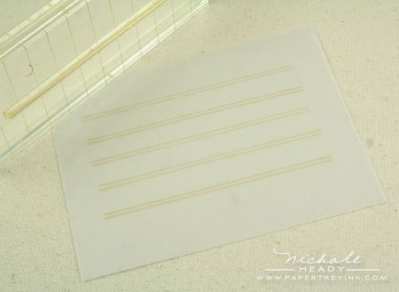 Stamping journal lines