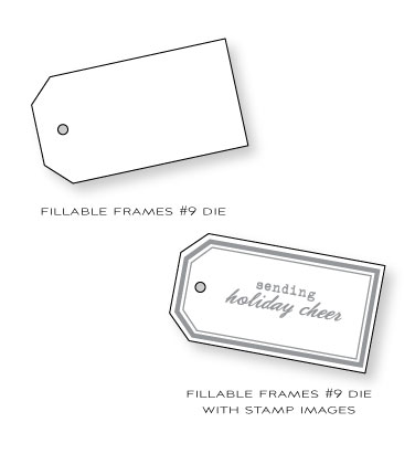 Fillable-frames-die