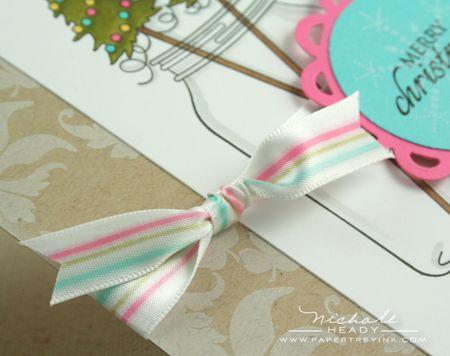 Finished ribbon