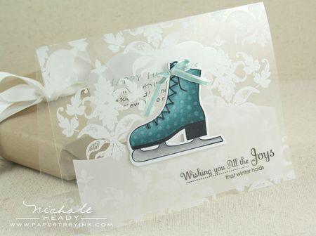 Clear Winter Joy card