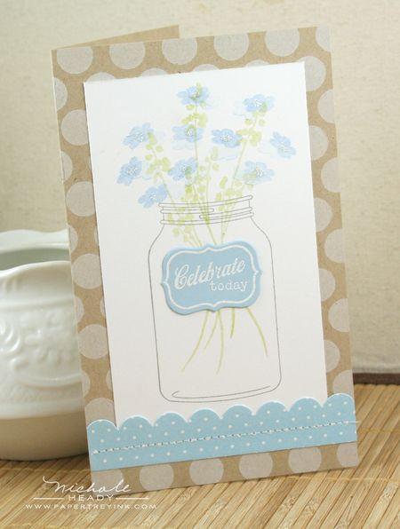 Wildflower Jar Card