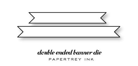 Double-Ended-Banner-die