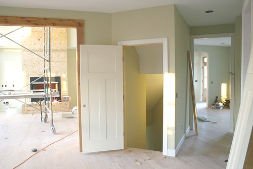 Door to basement