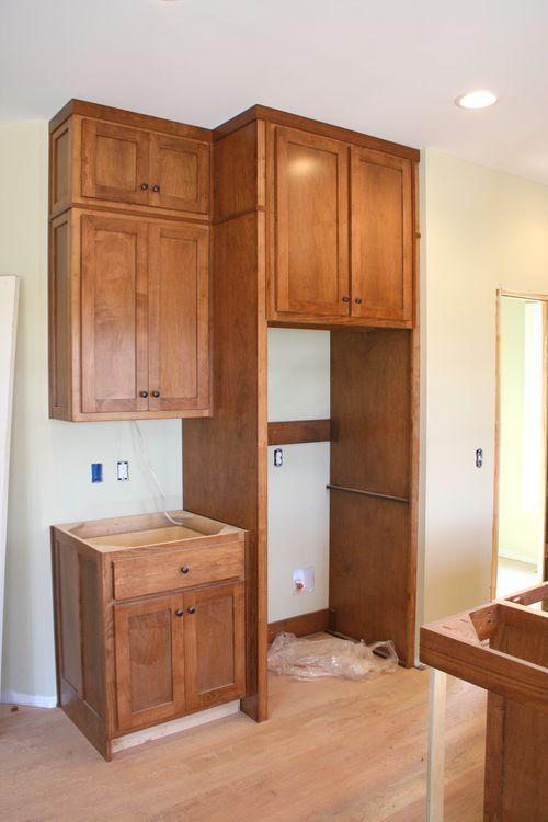 Cabinets fridge