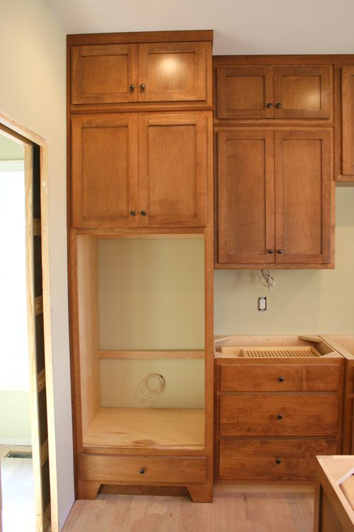 Beautiful Unfinished Double Oven Cabinet Mf Cabinets. Double Oven Cabinet Plans