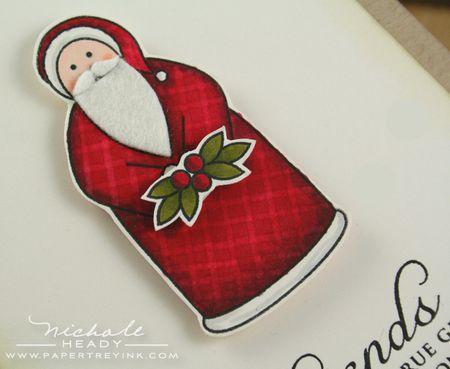 Santa closeup