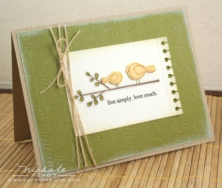 Live Simply Card