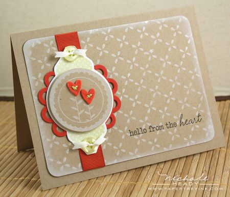 Hello from the Heart card