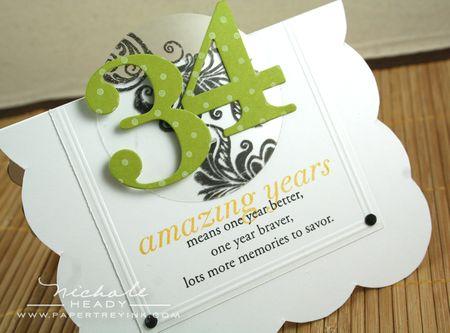 34 Amazing Years Card