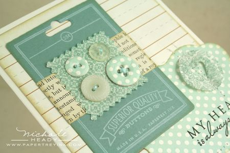Button card closeup up