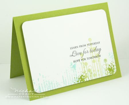 Green Grunge Card