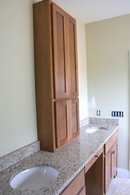 Master bath cabinet tall