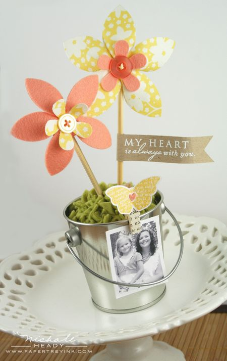 Flower Photo Pot
