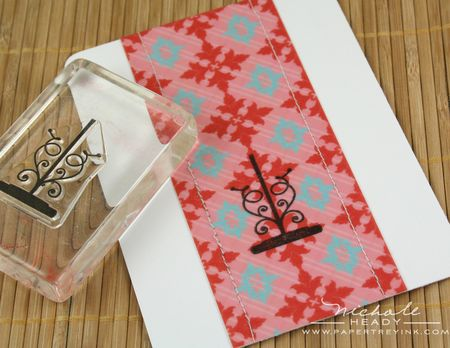 Patterned paper strip