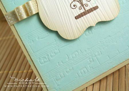 Sheet music closeup